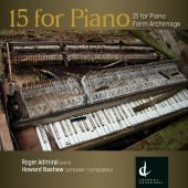 Album artwork for Howard Bashaw: 15 for Piano