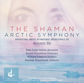 Album artwork for Vincent Ho: The Shaman & Arctic Symphony (Live)