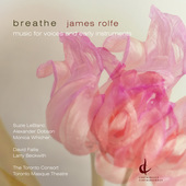 Album artwork for Rolfe: Breathe - Music for voices and early instru