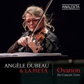 Album artwork for OVATION - A Live Concert / Angele Dubeau