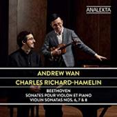 Album artwork for Beethoven: Violin Sonatas (Andrew Wan)