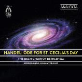 Album artwork for Handel: Ode for St. Cecilia's Day / Bach Choir of