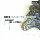 Album artwork for Bach: Sonatas for Violin and Harpsichord Vol. 2