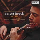 Album artwork for Aaron Brock: Toccata