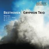 Album artwork for Beethoven: Piano Trios Op.70 1-2, Op.11 / Gryphon