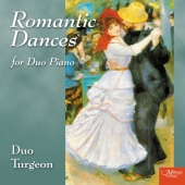 Album artwork for ROMANTIC DANCES FOR PIANO DUET