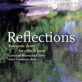 Album artwork for Reflections: Romantic Duets for Cello and Harp