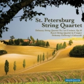 Album artwork for St. Petersburg String Quartet: Debussy and Ravel