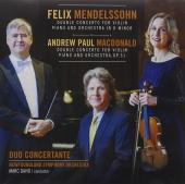 Album artwork for Mendelssohn: Double Concerto / Duo Concertante
