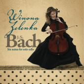 Album artwork for J.S. Bach: Cello Suites / Winona Zelenka