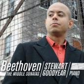 Album artwork for Beethoven: The Middle Sonatas- goodyear