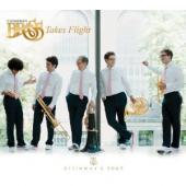 Album artwork for CANADIAN BRASS TAKES FLIGHT
