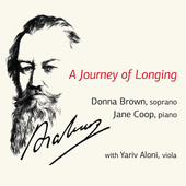 Album artwork for A Journey of Longing / Jane Coop, Donna Brown