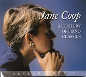 Album artwork for Jane Coop: A Century of Piano Classics