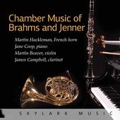 Album artwork for Chamber Music of Brahms and Jenner