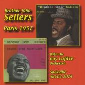 Album artwork for Brother John Sellers: Paris 1957 with the Guy Lafi