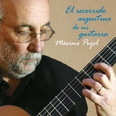 Album artwork for El recorrido argentino de mi guitarra / Pujol