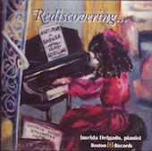 Album artwork for Rediscovering..... Imelda Delgado, pianist