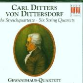 Album artwork for Dittersdorf: Six String Quartets / Gewandhaus Quar