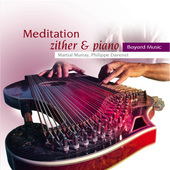 Album artwork for Meditation: Zither & Piano