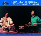 Album artwork for India: Zakir Hussain & Shivkumar Sharma