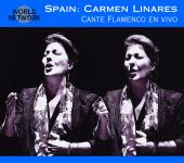 Album artwork for Spain:Carmen Linares