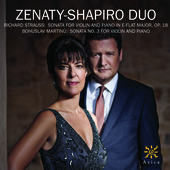 Album artwork for Zenaty-Shapiro Duo
