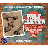 Album artwork for Wilf Carter: Montana Slim 1933-1941