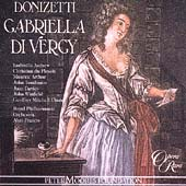 Album artwork for DONIZETTI: GABRIELLA DI VERGY