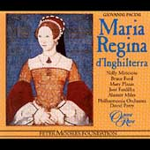 Album artwork for MARIA REGINA D'INGHILTERRA