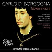 Album artwork for Pacini: CARLO DI BORGOGNA