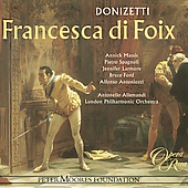 Album artwork for DONIZETTI: FRANCESCA DI FOIX