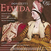 Album artwork for DONIZETTI: ELVIDA