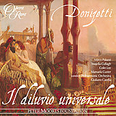 Album artwork for DONIZETTI : IL DILUVIO UNIVERSALE