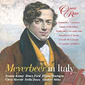 Album artwork for MEYERBEER IN ITALY