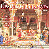 Album artwork for Meyerbeer: L'Esule di Granata (highlights)