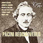 Album artwork for PACINI REDISCOVERED