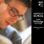 Album artwork for English Folksongs & Lute Songs / Andreas Scholl