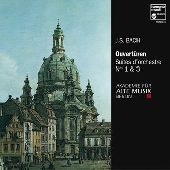 Album artwork for BACH. Orchestral Suites 2 & 4. Akademie f�r Alte