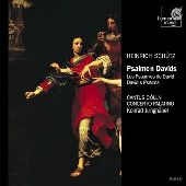 Album artwork for HEINRICH SCHUTZ: PSALMEN DAVIDS