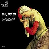 Album artwork for LAMENTATIONS DE LA RENAISSANCE