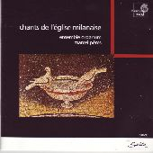 Album artwork for Chants de l'�glise milanaise: Music from the ti