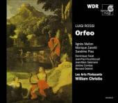 Album artwork for L. Rossi: Orfeo / Piau, Mellon, Christie