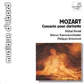 Album artwork for CLARINET CONCERTO