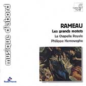 Album artwork for Rameau: Les Grands Motets / Herreweghe