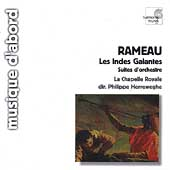 Album artwork for Rameau: Les Indes Galantes Suites / Herreweghe