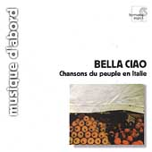 Album artwork for CHANSONS DU PEUPLE EN ITALIE