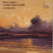 Album artwork for Piano Sonatas Nos. 13 & 17 D.664 & 850