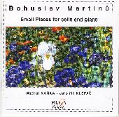 Album artwork for SMALL PIECES FOR CELLO AND PIANO