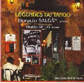Album artwork for LEGENDS DU TANGO
